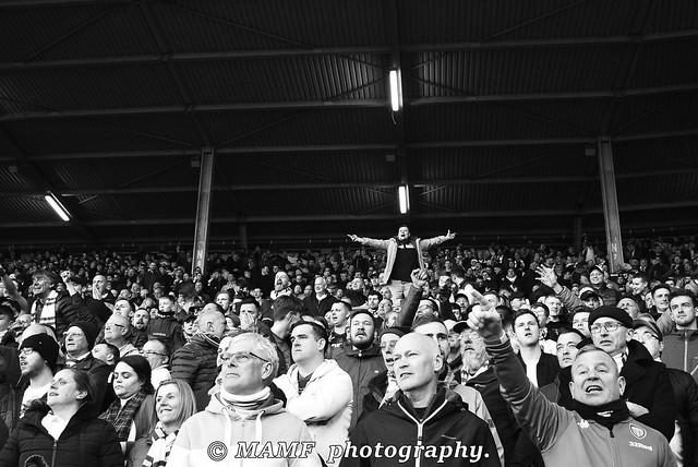 Stand up if you love Leeds united.