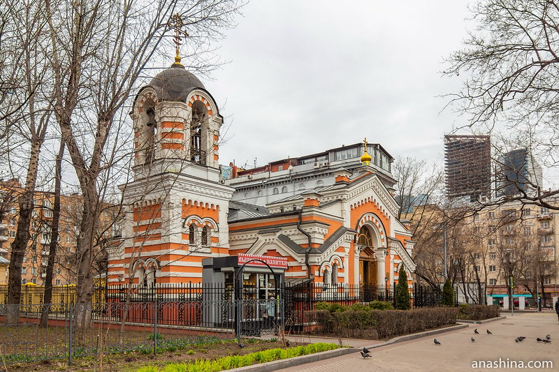 Храм Михаила Архангела, Москва, Фили
