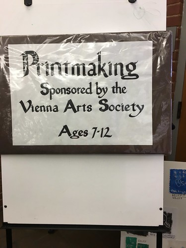 Printmaking Workshop @ PH | by Fairfax County Public Library