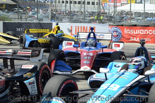Rush Hour at Long Beach, Tony Kanaan,