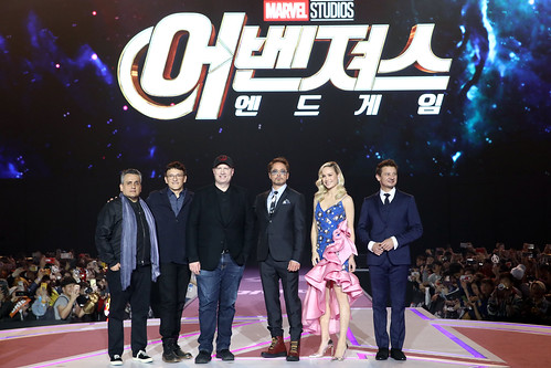Marvel Studios' 'Avengers: Endgame' South Korea Premiere - Fan Event In Seoul | by garethvk