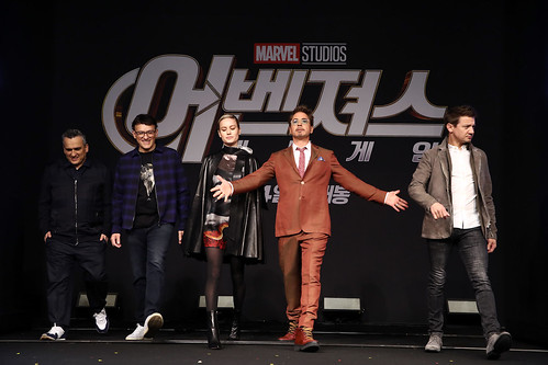 Marvel Studios' 'Avengers: Endgame' South Korea Premiere - Press Conference In Seoul | by garethvk