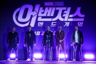 Marvel Studios' 'Avengers: Endgame' South Korea Premiere - Press Conference In Seoul   by garethvk