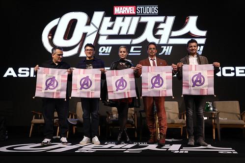 Marvel Studios' 'Avengers: Endgame' South Korea Premiere - Press Conference In Seoul | by garethvk
