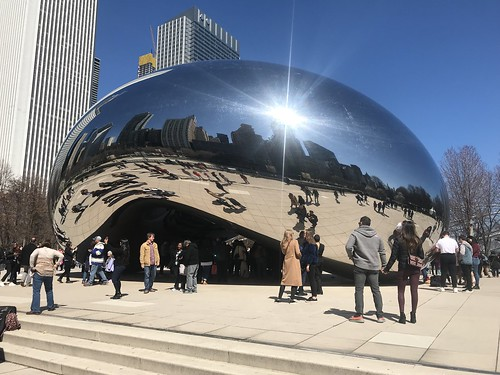 The Bean at Millennium Park