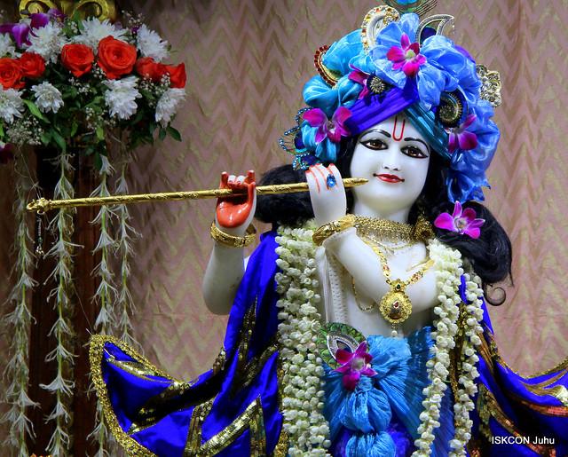 ISKCON Juhu Mangal Deity Darshan on 16th Apr 2019