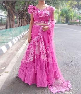 Lehenga Saree Designer in Delhi