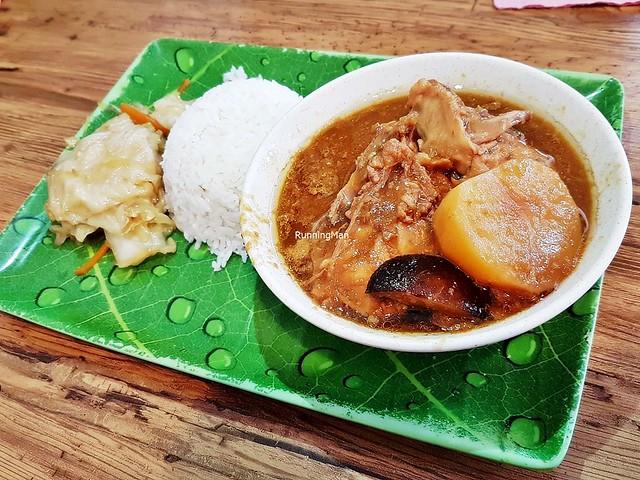 Ayam Pongteh / Stewed Chicken & Potato In Salted Bean Sauce