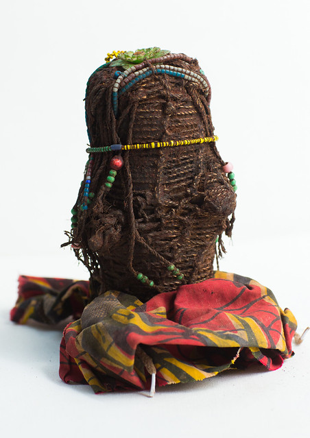 Tribe doll from south area, Cunene, Angola