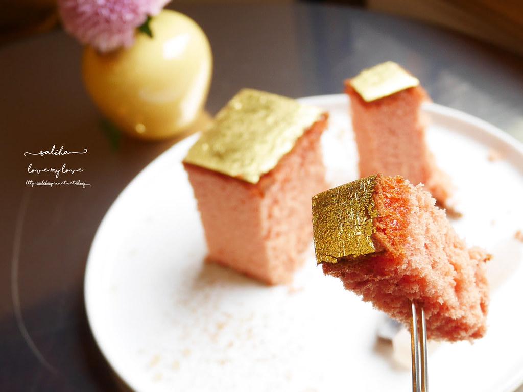 台北金錦町下午茶餐點伴手禮金箔蜂蜜蛋糕 (5)