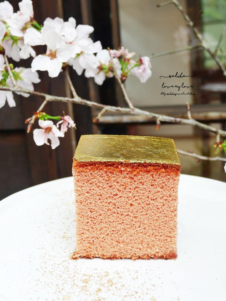 台北金錦町下午茶餐點伴手禮金箔蜂蜜蛋糕 (2)