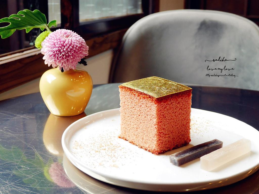 台北金錦町下午茶餐點伴手禮金箔蜂蜜蛋糕 (1)