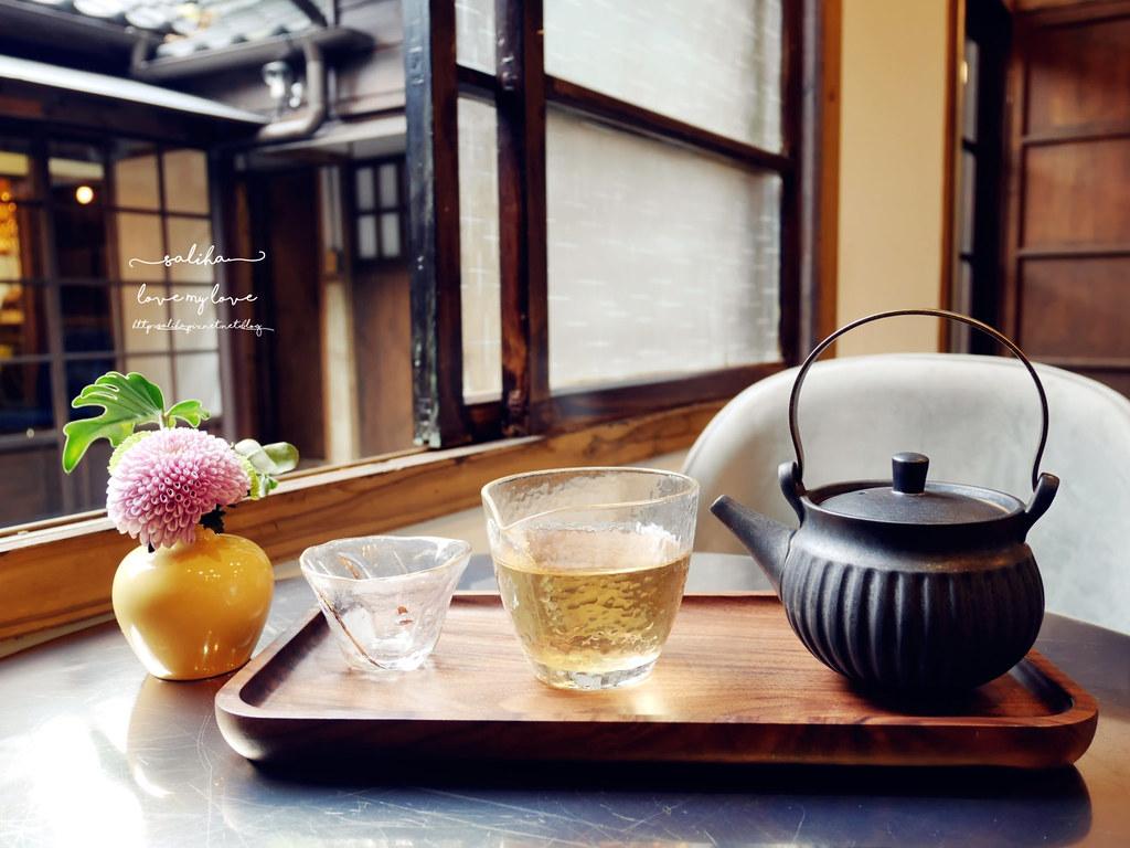 台北東門站老房子日式咖啡館泡茶喝茶氣氛好推薦金錦町ig打卡網美風景點
