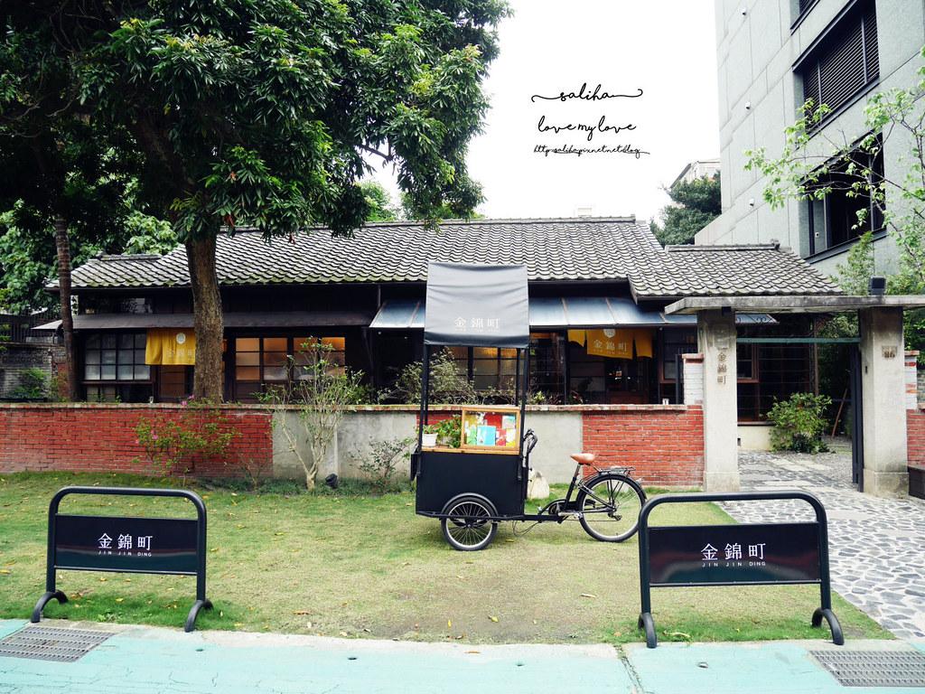 台北大安金華街東門站日式咖啡廳推薦老房子古蹟金錦町 (2)