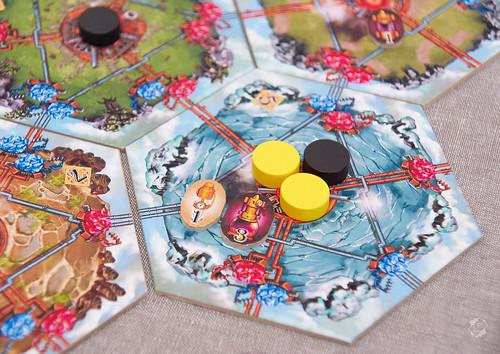 Настольная игра Гравитация Парящие Острова
