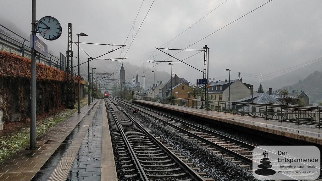 Mit der Bahn von Hatzenport nach Klotten