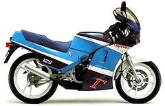 Suzuki RG 125 Gamma 1985 - 4