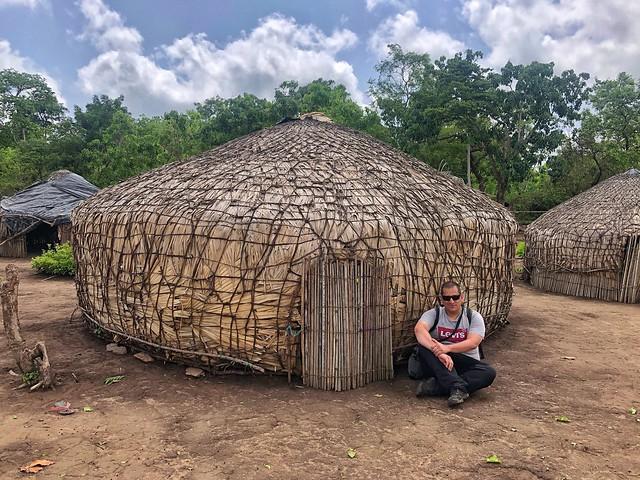 Sele en un campamento fulani en Benín