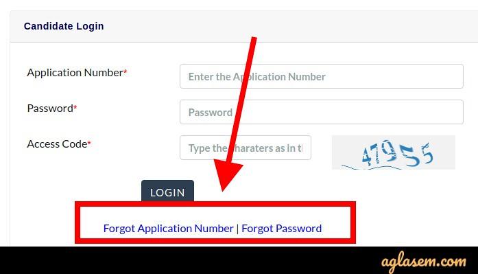 KEAM 2020 login credentials for admit card