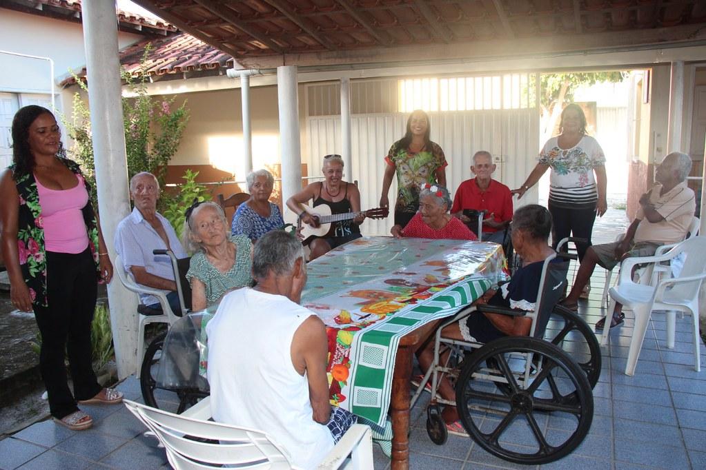 Celebração da Paixão de Cristo no Lar de Idosos Sant'Anna em Alcobaça (6)