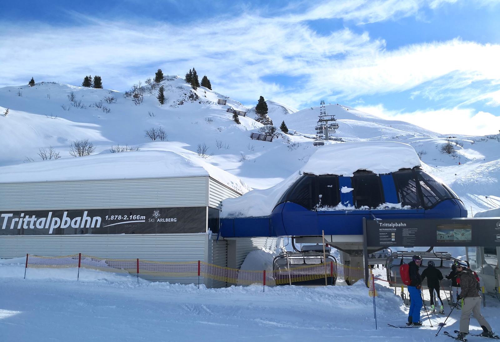 Base of Trittalpbahn