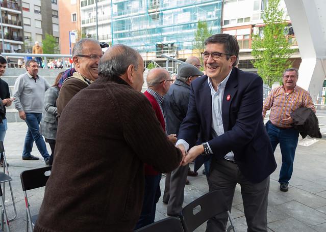 Acto con Txema Oleaga sobre pensiones en Astrabudua #28A #HazQuePase