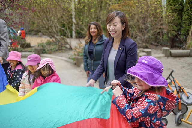 Burnaby families to benefit from three new child care centres