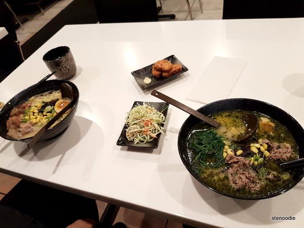 Okotte Ramen food