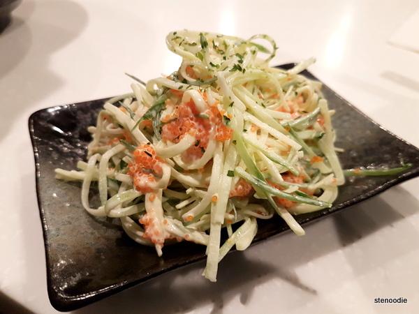 Tobiko Salad