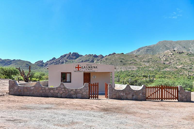 Inauguración del Centro de Salud de Brealito