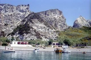 Ponza (LT), 1995, Isola di Ponza.