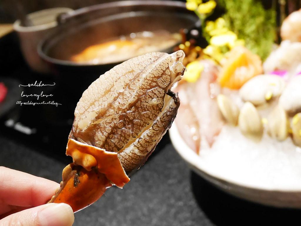 台北東區竹苑shabu高級鍋物海鮮好吃火鍋忠孝敦化站附近餐廳 (8)