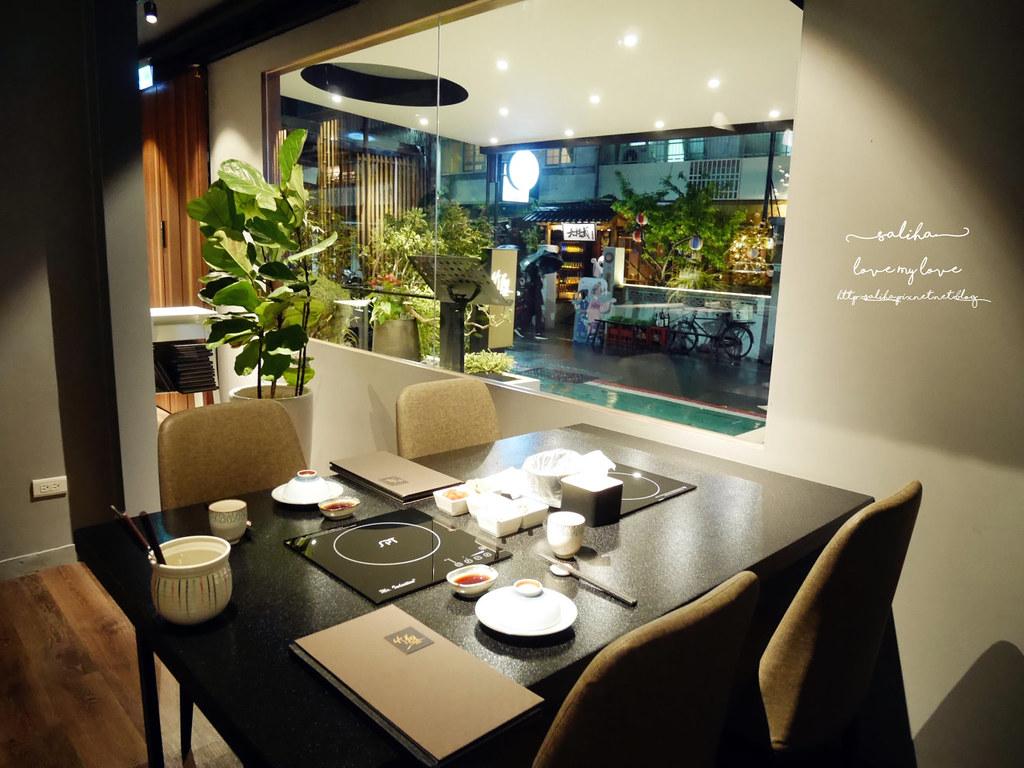 台北大安區東區竹苑shabu高級鍋物海鮮好吃火鍋情人節約會聚餐大餐 (2)