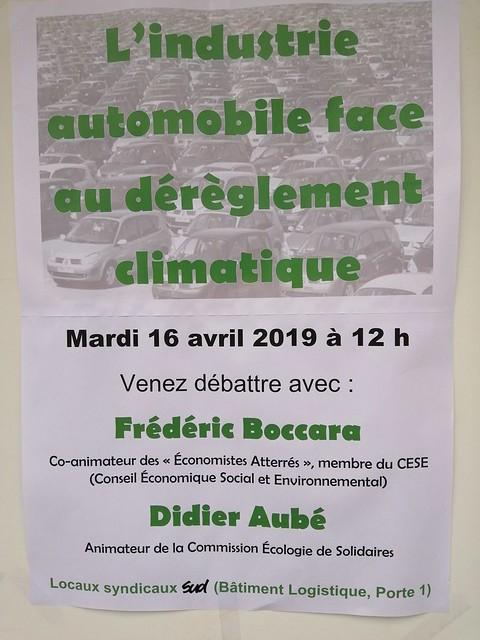 Débat sur le dérèglement climatique
