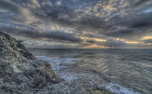 sunkencity sanpedro palosverdespeninsulacalifornia california southerncalifornia pacificocean sunrise clouds cloudscapes