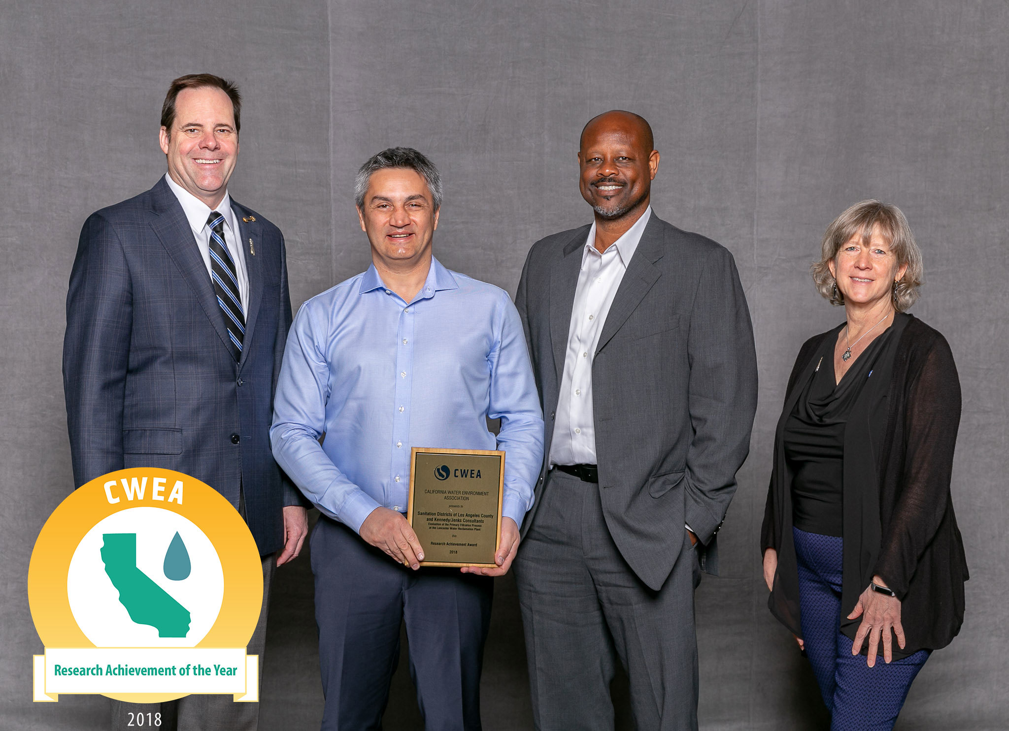 Research Achievement of the Year: Sanitation Districts of Los Angeles County & Kennedy/Jenks Consultants