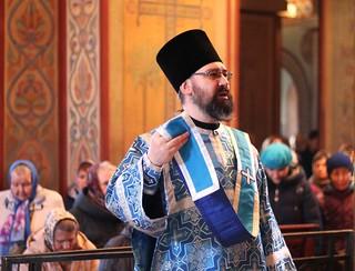 14.04.2019 | Богослужение в Софийском соборе