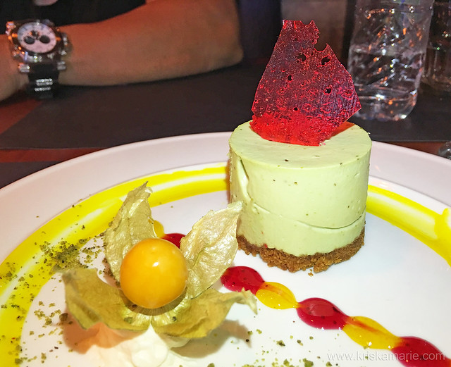 Avocado Cheesecake from Downtown Cafe