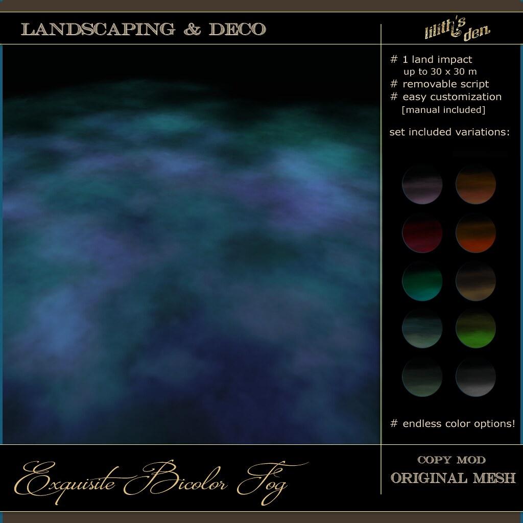 LD Exquisite Bicolor Fog