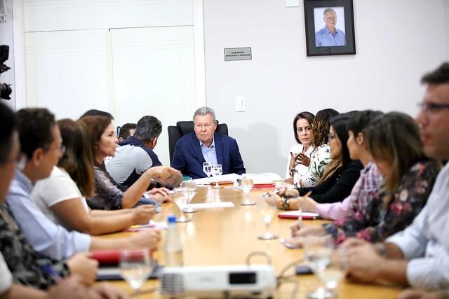17.04.2019 Reunião com secretariado sobre obras