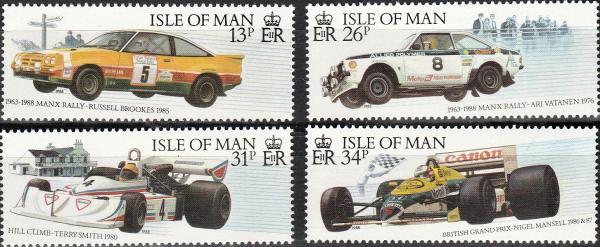 Isle Of Man #359-62 MNH CV $4.75