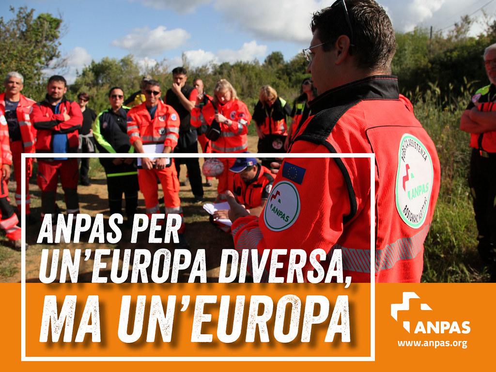 Anpas per un'Europa diversa, ma un'Europa