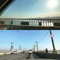 橫渡安加拉冰河,好冰啊! 【浪遊旅人】http://bit.ly/1zmJ36B #bacpackerjim #angarariver #river #bridge #taxi #railway #station #irkutsk #Ирку́тск #russia #россия