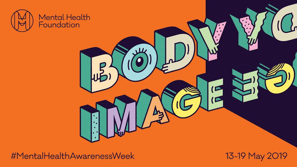 Mental Health Foundation body image logo for this year's mental health week