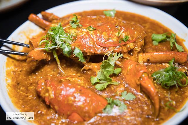 Singapore Chilli Crab 星洲辣椒螃蟹(市价)