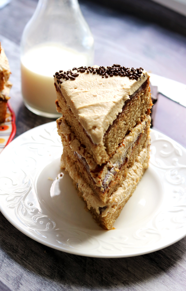 Chocolate and Peanut Butter Goober Cake