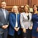 April 17, 2019. (L to R) Rep. JP Sredzinski, Rep. Carol Hall, Rep. Dorinda Borer and Rep. Christie Carpino.