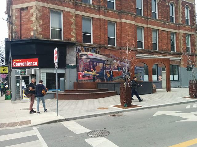 501 Queen mural #toronto #queenstreetwest #denisonstreet #mural #501queen #streetcars #ttc