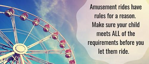Amusement Ride Safety Header Image | by preventchildinjury