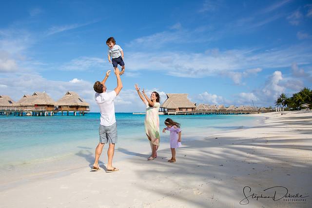 Family Photos - Conrad Bora Bora